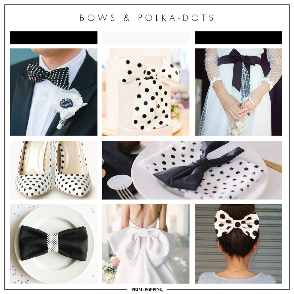 Bows & Polka-dots | Theme Wedding