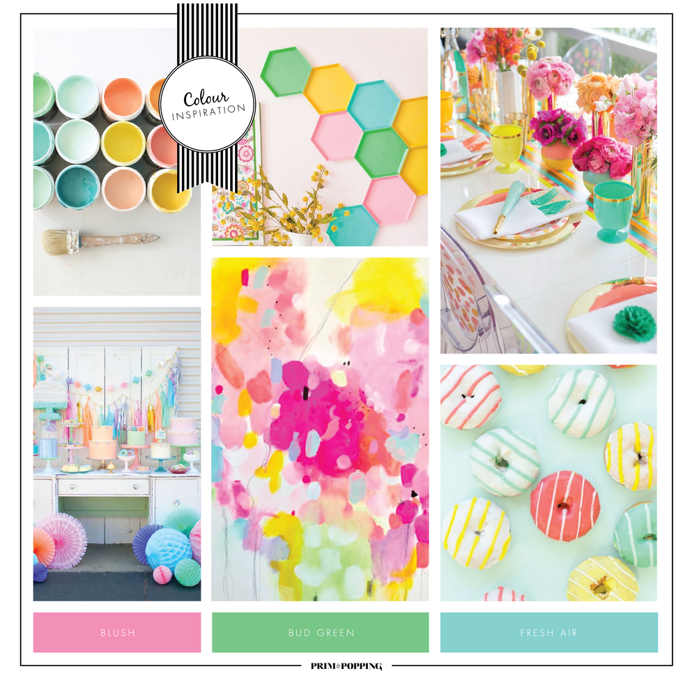 Bright Pastels | Colour Inspiration