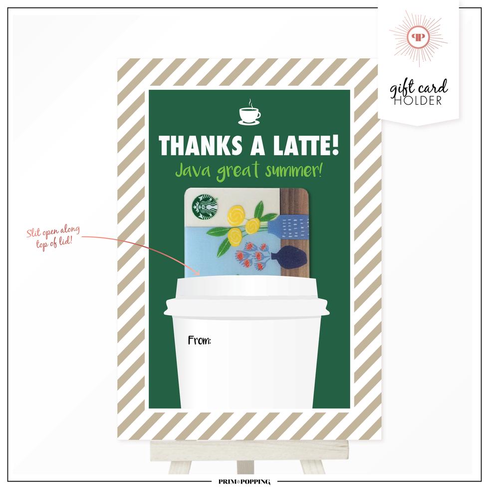 Coffee Cups | Gift Card Holders