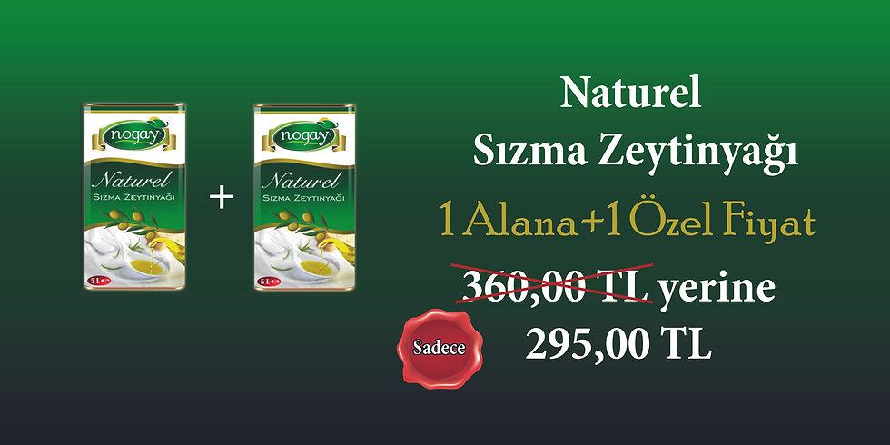Zeytin Yağı Kampanyası 1 Alana 1 Özel Fiyat