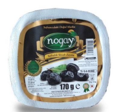 Aç Bitir Siyah Zeytin 170 Gr (42 Adet/Koli)