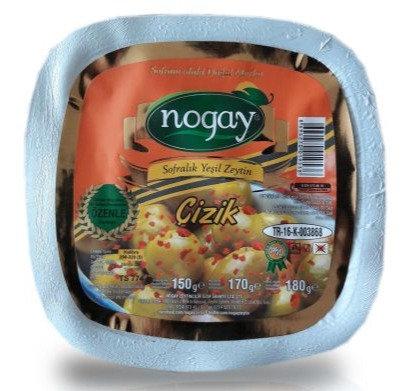 Aç Bitir Çizik Zeytin 130 Gr (42 Adet/Koli)