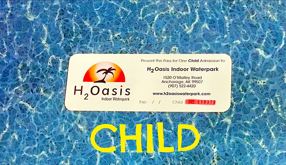 H2Oasis Child Ticket (Day Pass)