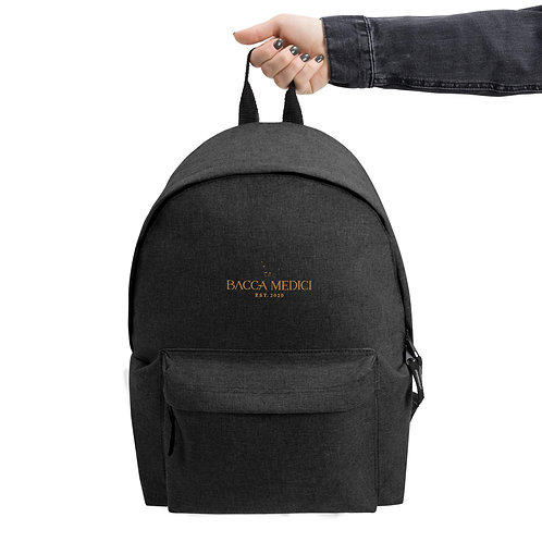 Marco Polo Bag- Embroidered Backpack
