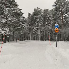Leden na severu Švédska: první dojmy Adély Korečkové