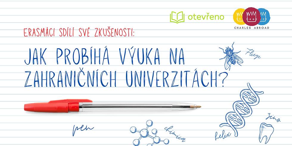 Erasmáci sdílí své zkušenosti: Jak probíhá výuka na zahraničních univerzitách?