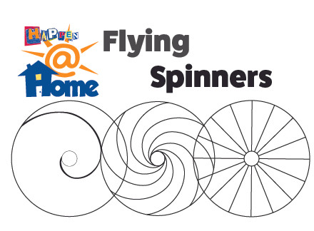 Happen@Home Flying Spinners