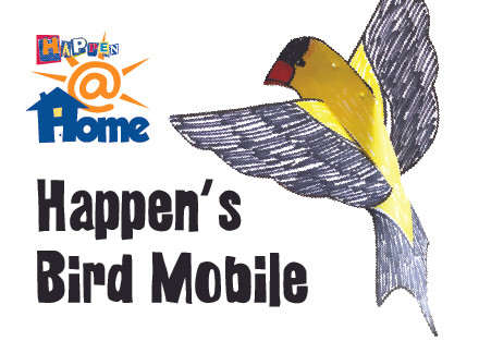 Happen@HOME Happen's Bird Mobile