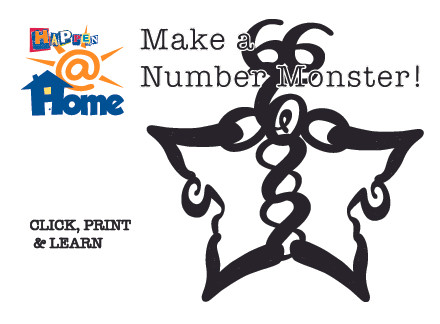 Happen@Home Make a Number Monster!