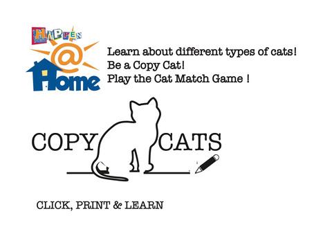 Happen@HOME Copy CATS