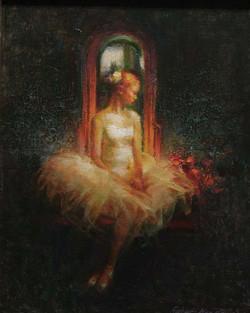 Krogle - Seated Ballerina  14x11