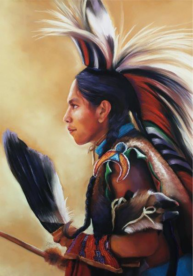 Shrader -Shoshone Dancer