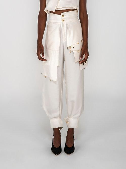 Layered pant