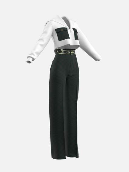 ART DECO OUTFIT