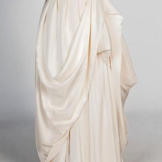 Wild silk skirt
