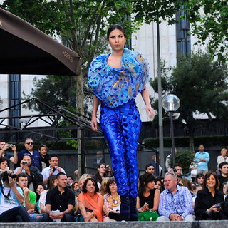 Whole sculptural outfit-Runway