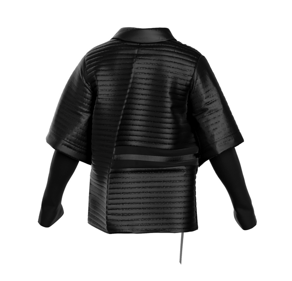 """The OG NFT  is built as a carbon copy of the original version of the jacket down to the closest detail. The NFT is dancing to the track """"Kill Me"""" by Daichi Yamamoto and Mick Jenkins."""