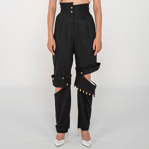 Asimetric pants