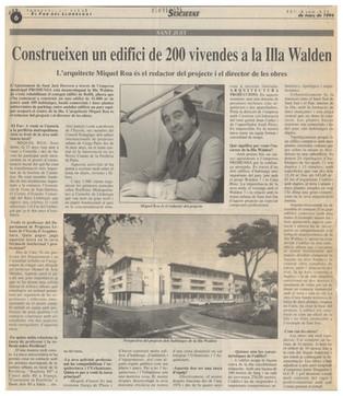 Construcció de la Illa Walden