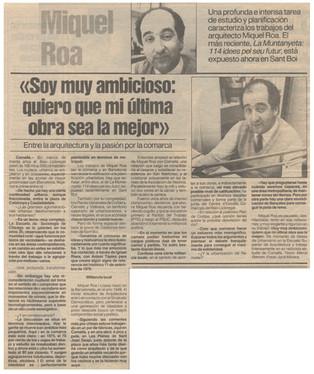Entrevista a Miquel Roa