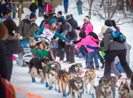 """The Ceremonial Start""-Our Rookie Iditarod, Part Two"