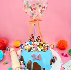 Confetti Balloon  Chocolate Piñata Smash