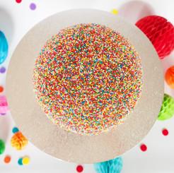Giant Freckle Chocolate Piñata Smash Cak