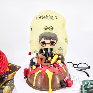 Harry Potter Smash Cake