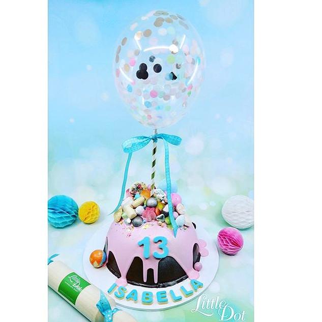 Little Dot's Confetti Balloon Piñata Sma
