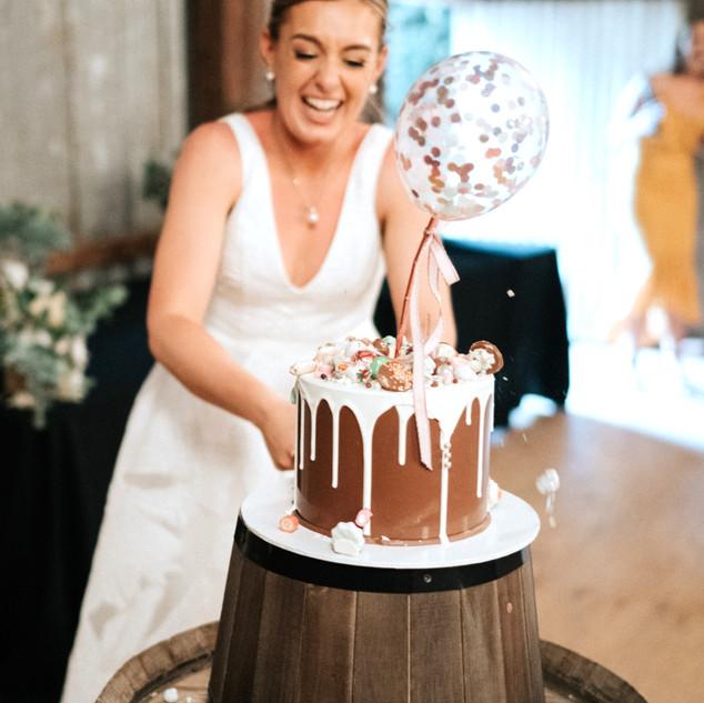 Wedding Smash Cake