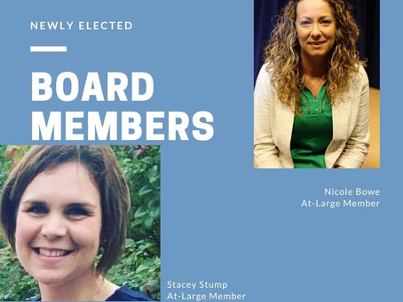 Congratulations to Our New Board Members