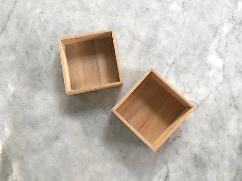 caja cuadrada chica