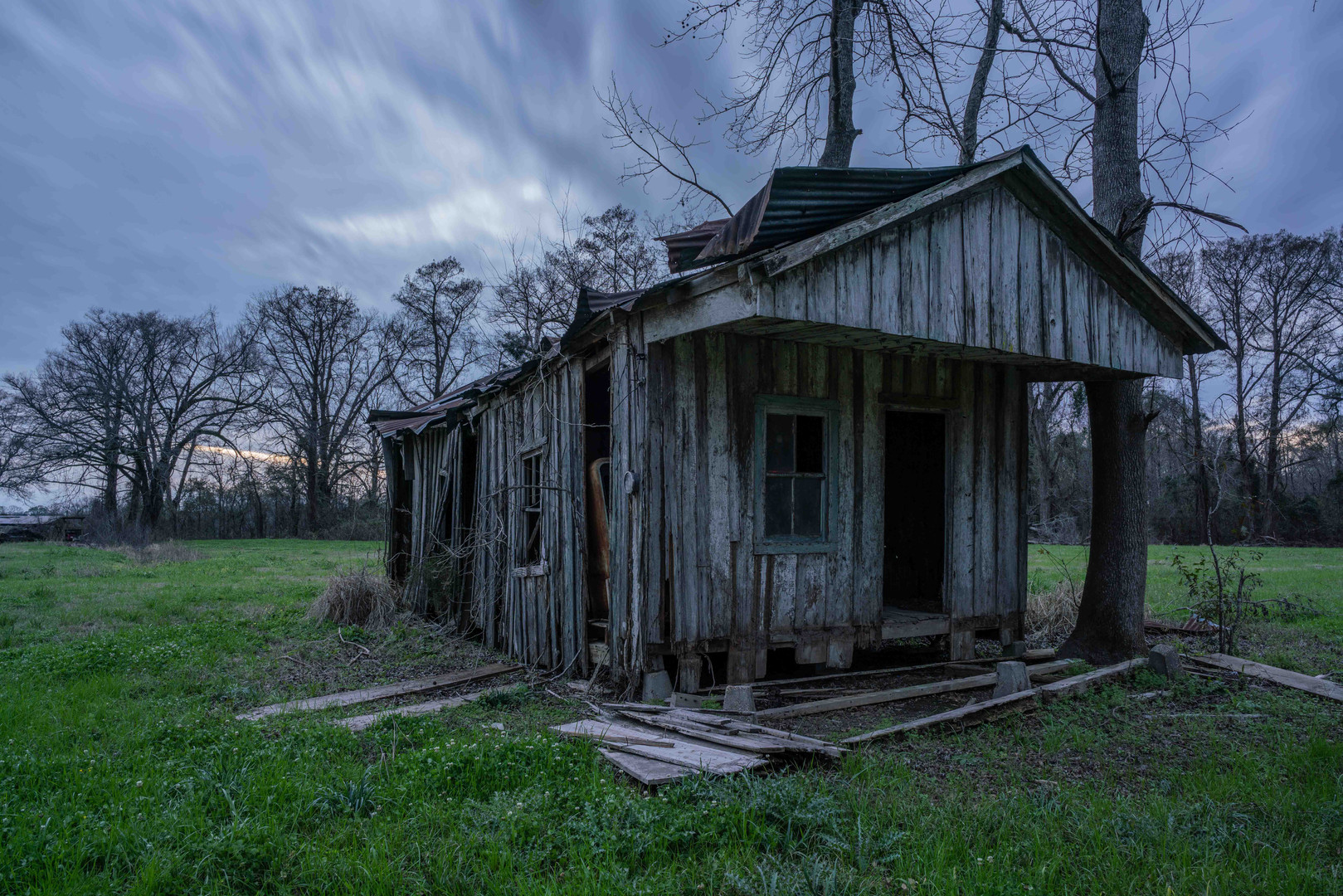 Sharecropper's Home, Sundown