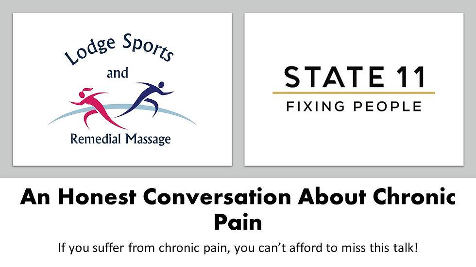 An Honest Conversation About Chronic Pain