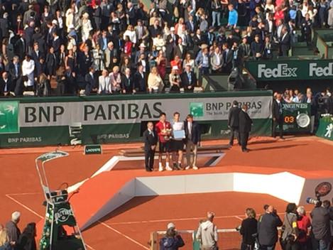 CSI at Roland Garros