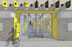 Het Gele Gebouw design