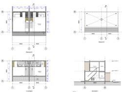 Floorplans and section