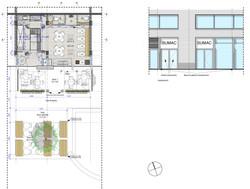 Floorplan and elevation