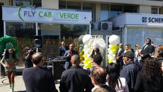 Festive opening Fly Cabo Verde