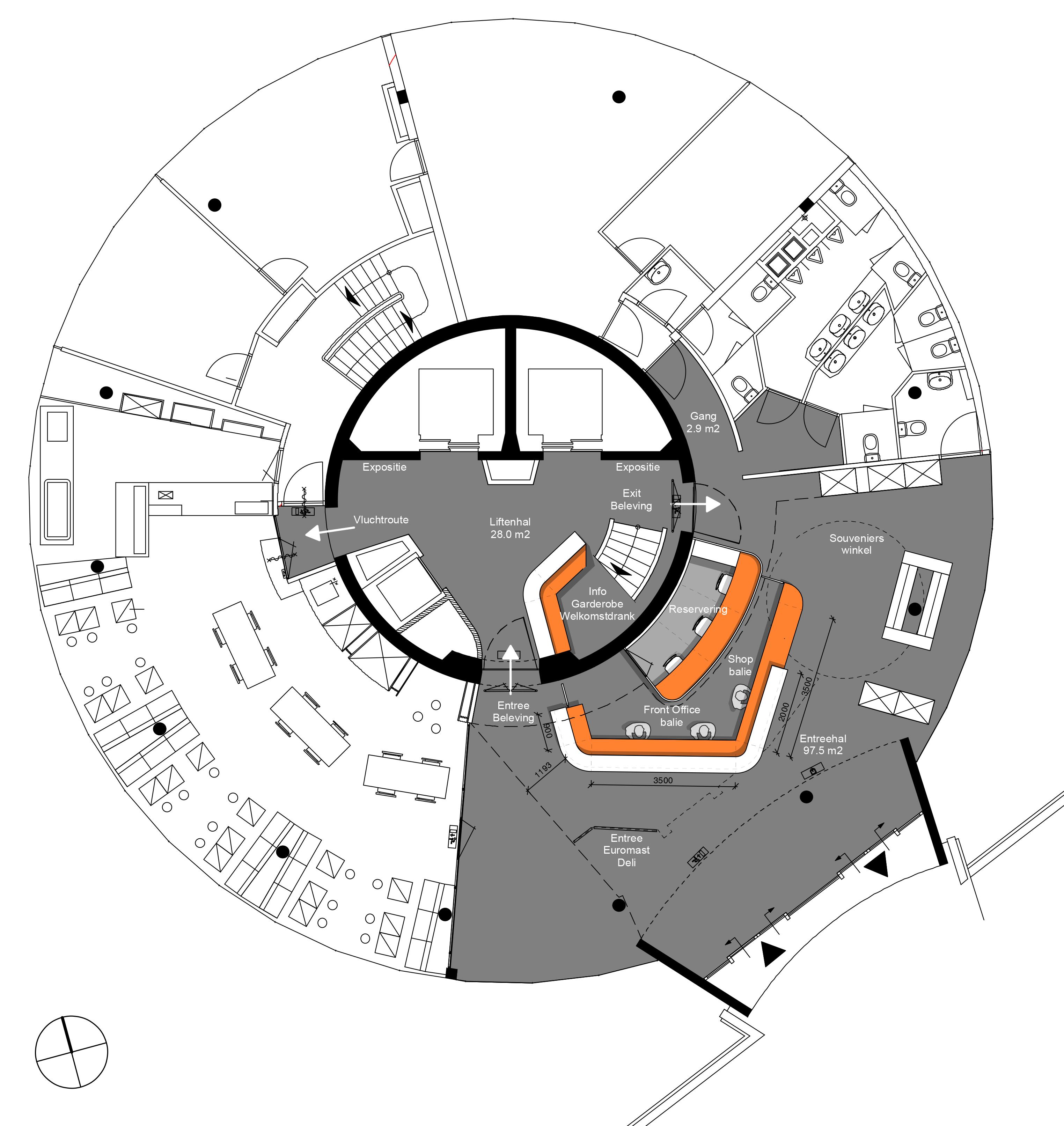 Euromast floorplan
