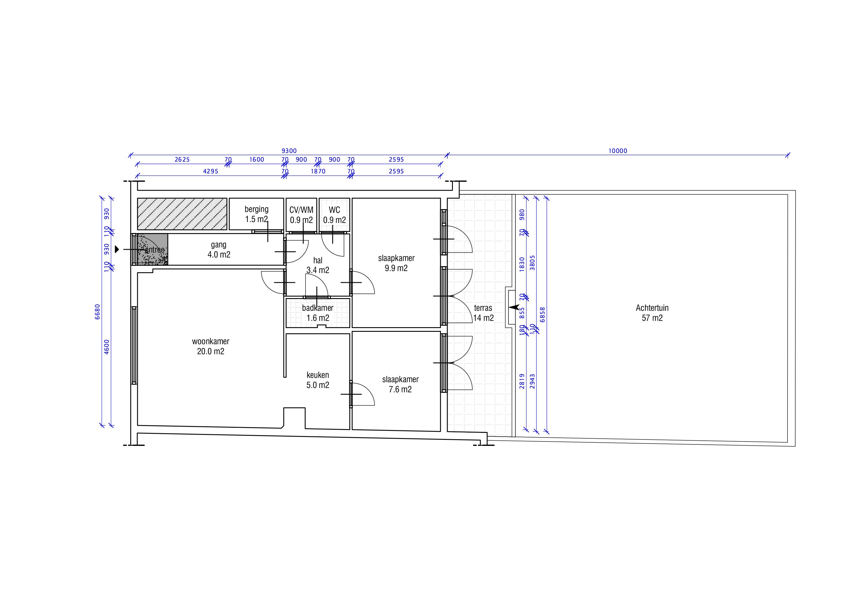 Floorplan before