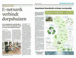 Article about IDNA's zero energy initiative
