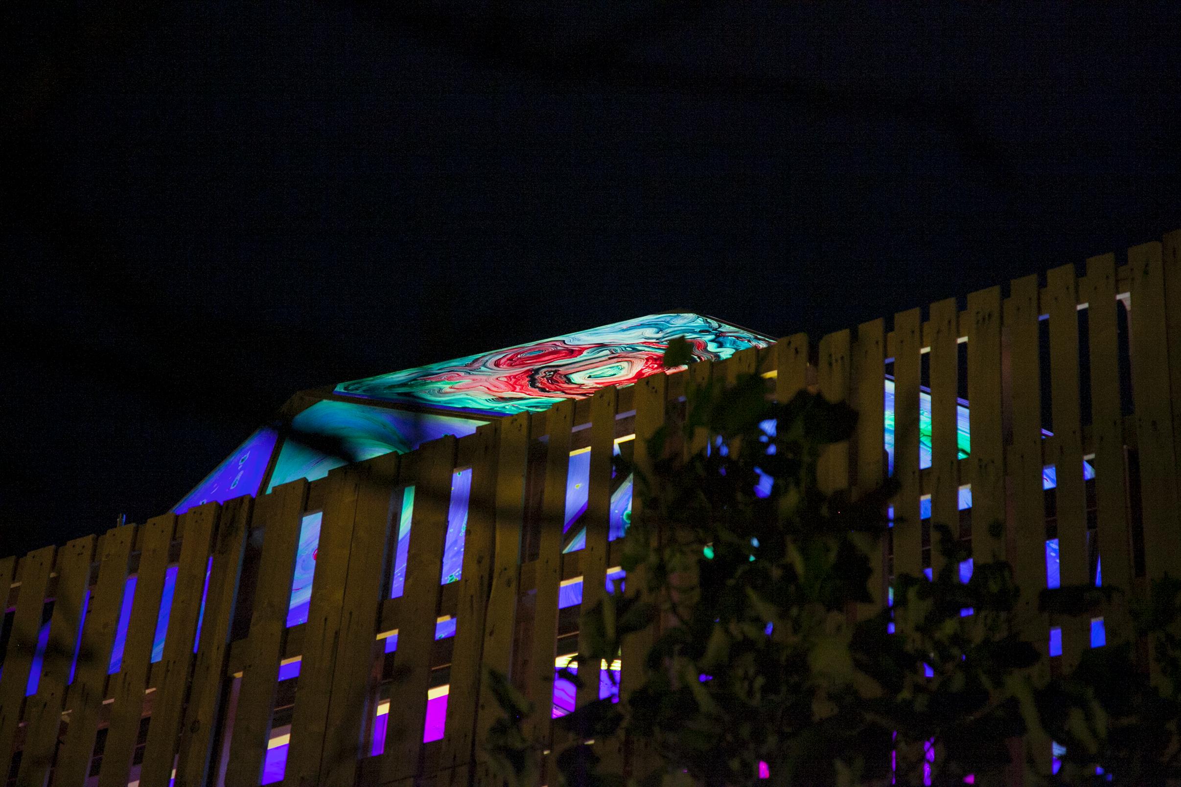 Art and led-lighting