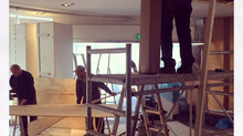 The Euromast Lobby renovation from 16 till 23 march