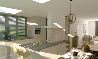 Extension and interior design