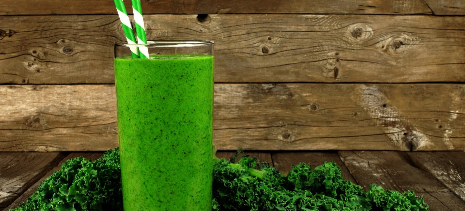 delicious green & kale smoothie to blend