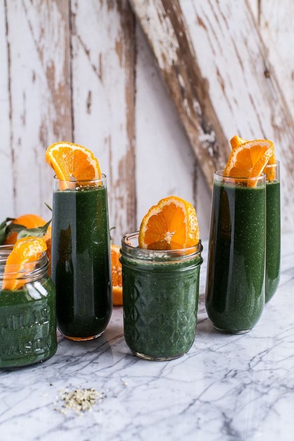 mean green 5 smoothies