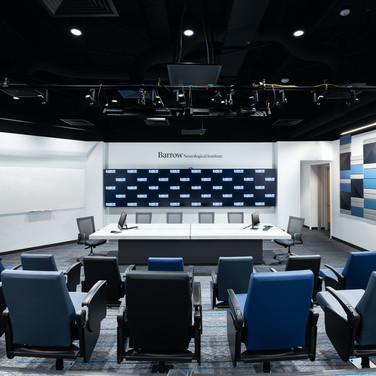 Eller TelePresence Room at the Barrow Neurological Institute - Phoenix, Az