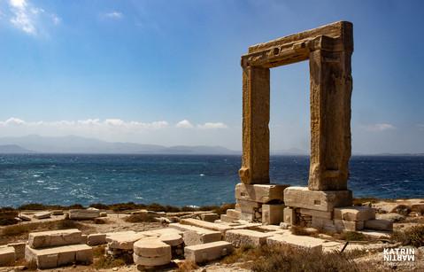Tempel des Apollonas - Portara Naxos