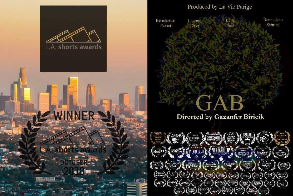 Gab wins 1 award again at LA !